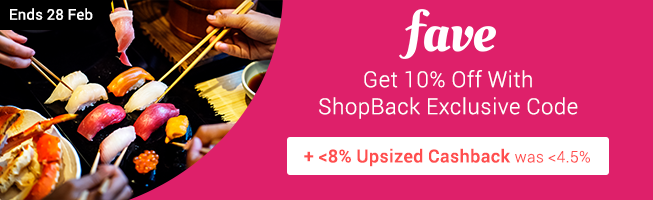 ShopBack Exclusive 10% off voucher for all