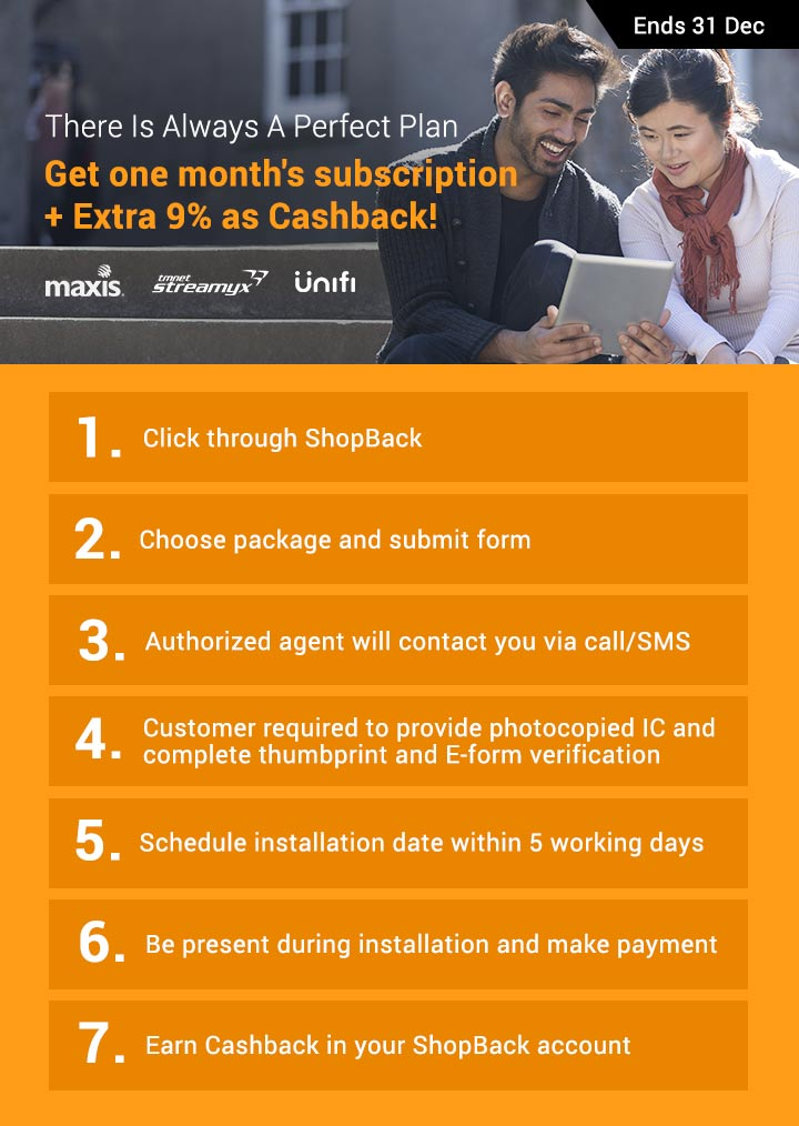 How to earn your cashback?