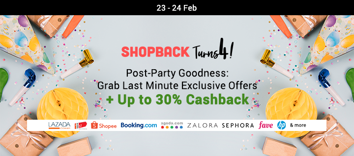 ShopBack Turns 3!