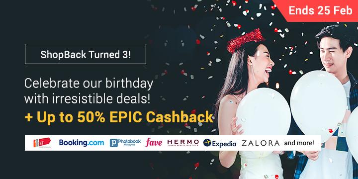 ShopBack Turns 3!