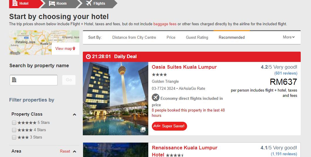 AirAsiaGo Hotel