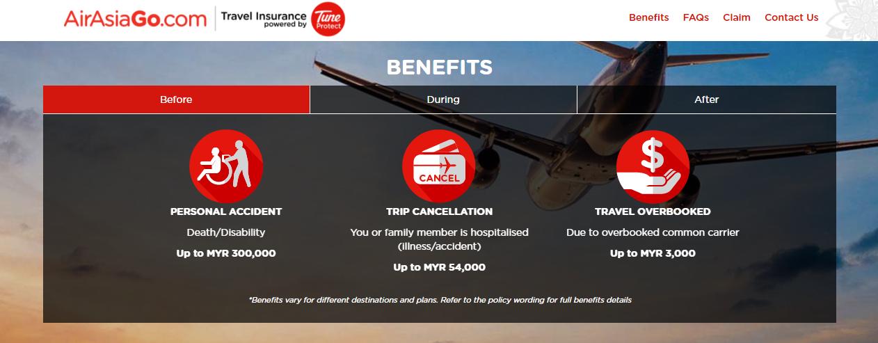 AirAsiaGo Insurance