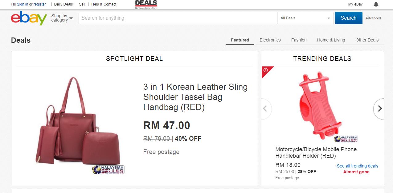 eBay Malaysia deals