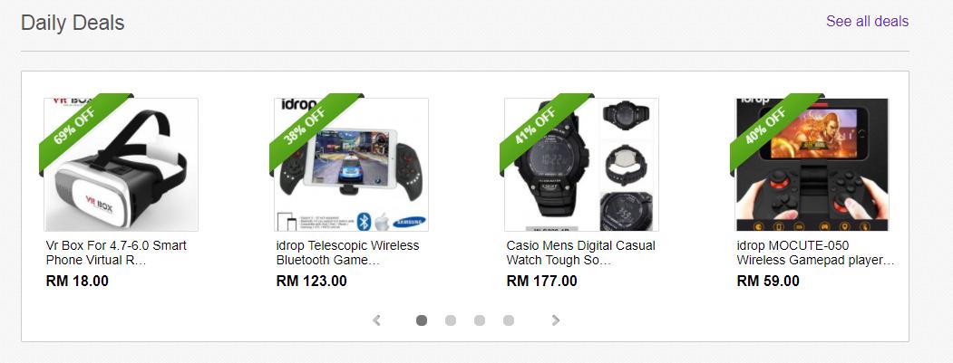eBay Malaysia Daily Deals