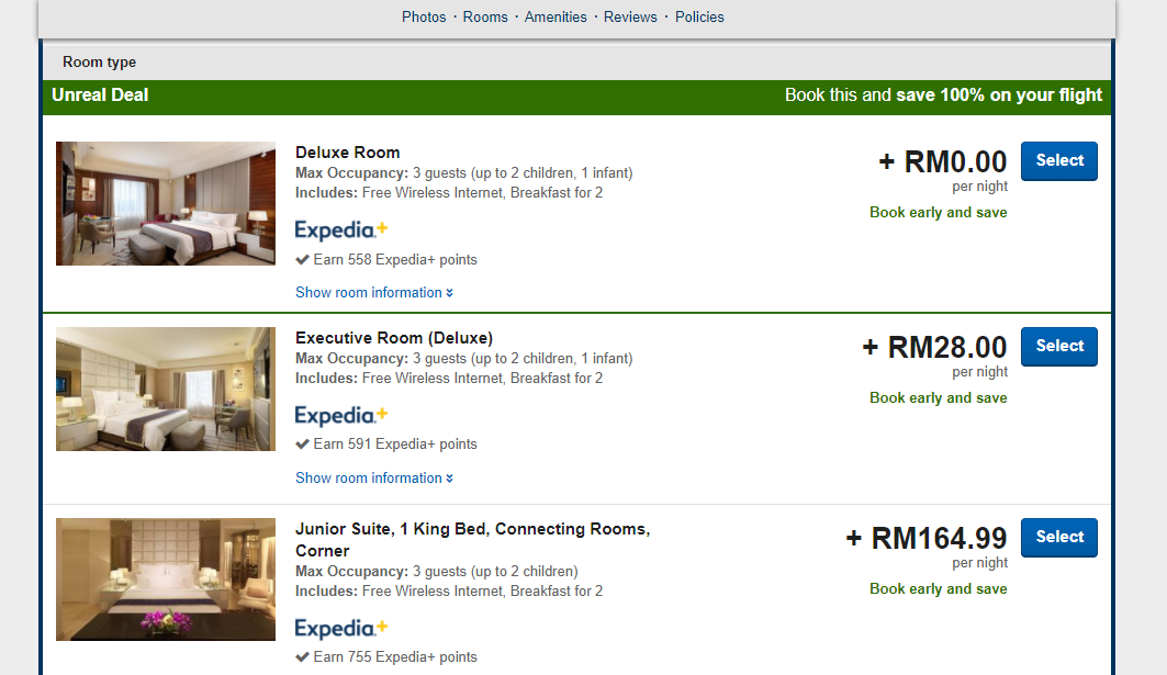 Expedia Rooms