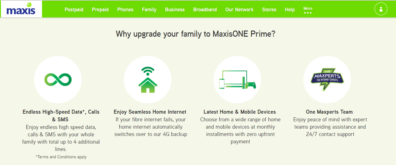 Maxis One Prime