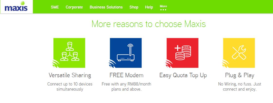 Maxis Business Broadband