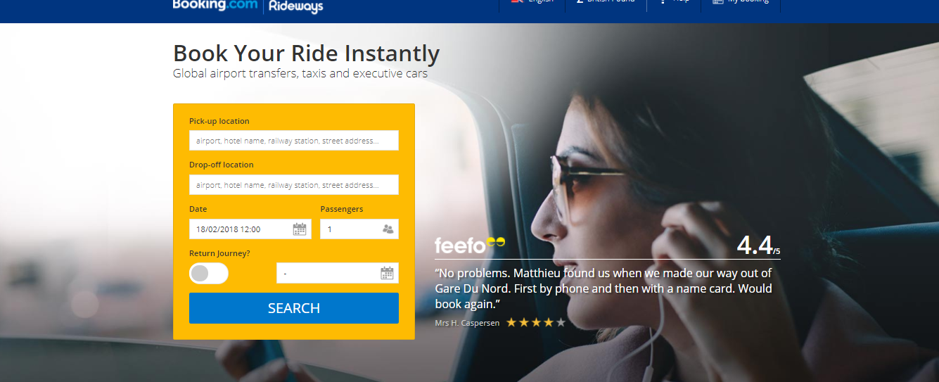 Booking.com Airport Ride