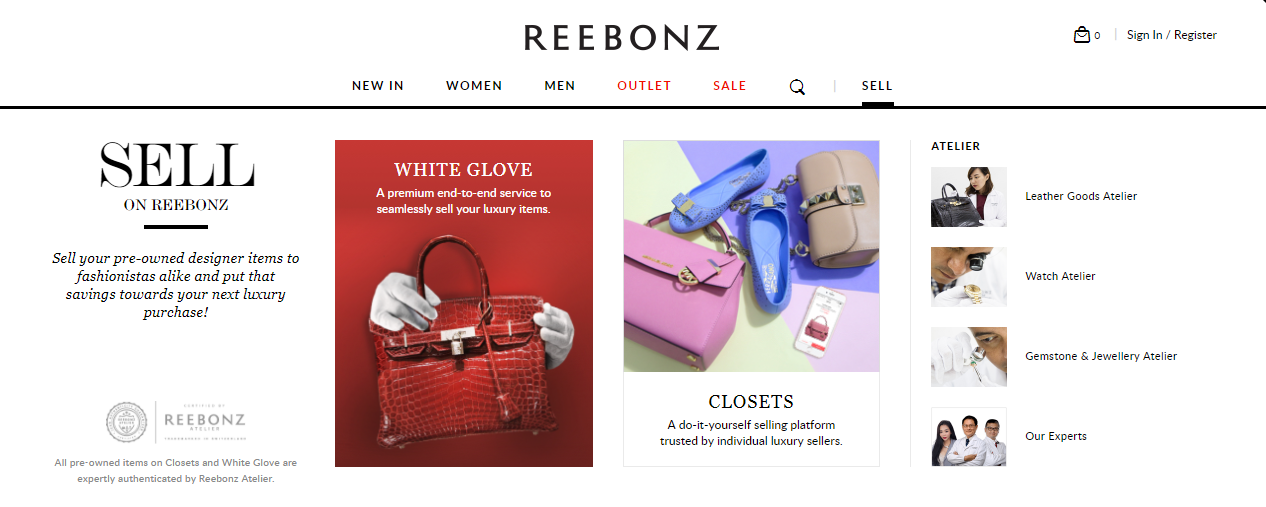 Reebonz White Glove