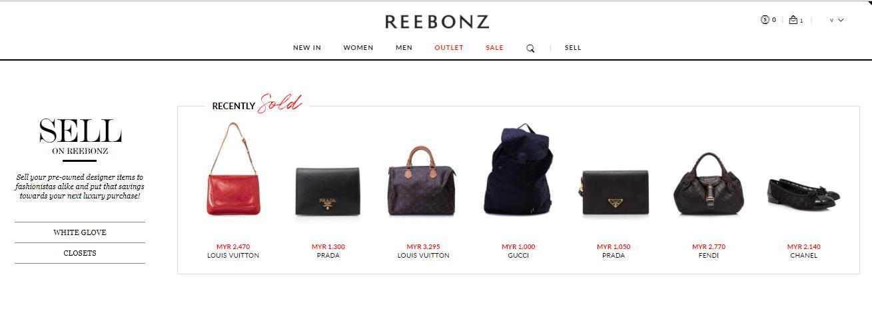 Reebonz Closets