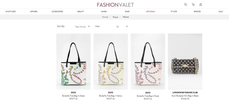 FashionValet Bags