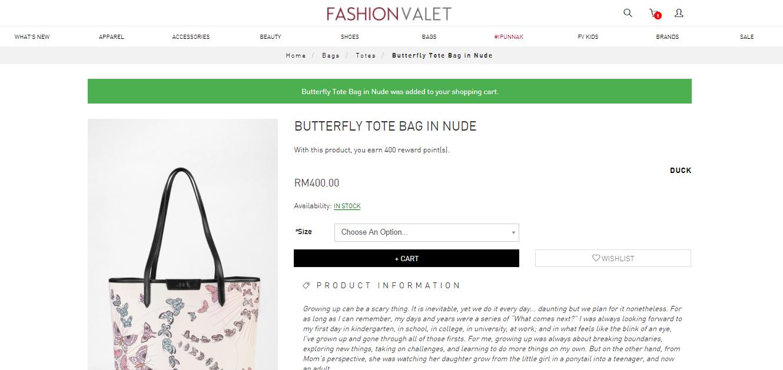 FashionValet ToteBag