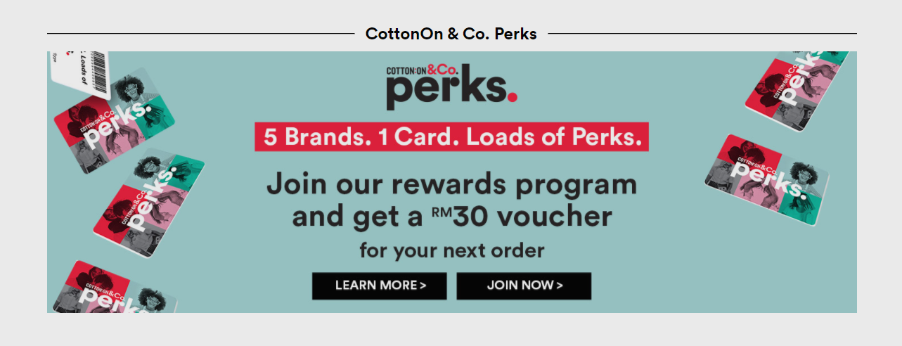 Cotton On Perks