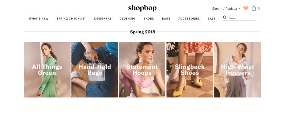 Shopbop women