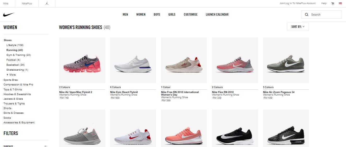 Nike Malaysia Shoes