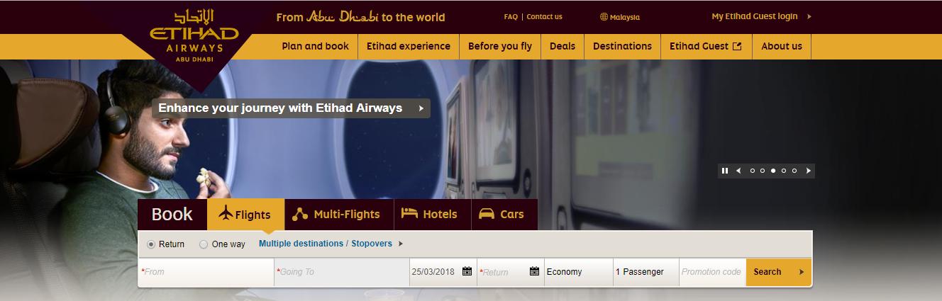 Etihad Airways Malaysia