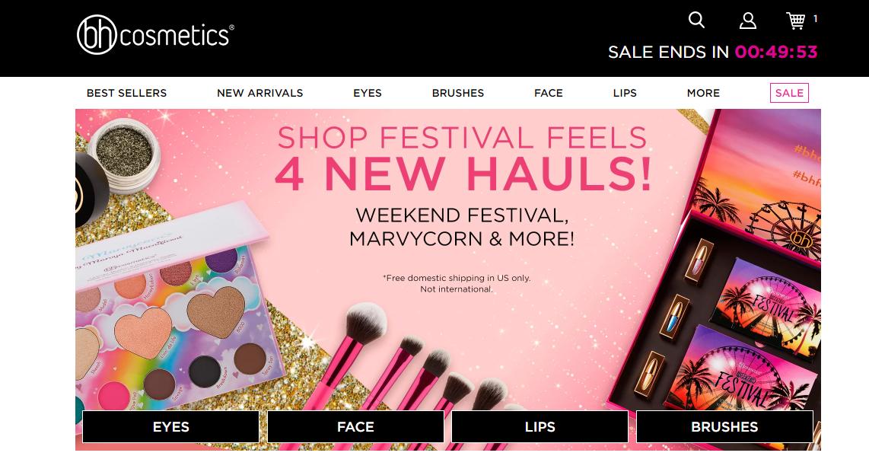 BH Cosmetics Shopping Haul