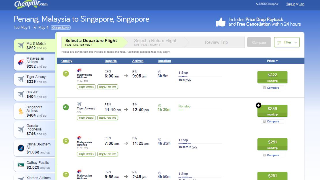 CheapAir Flights