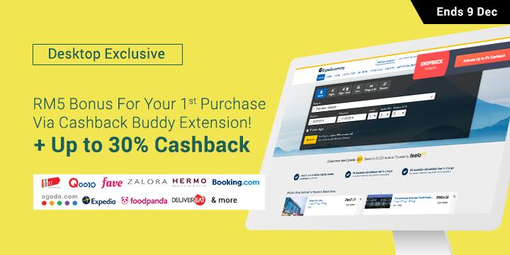 ShopBack Cashback Buddy RM5 Bonus
