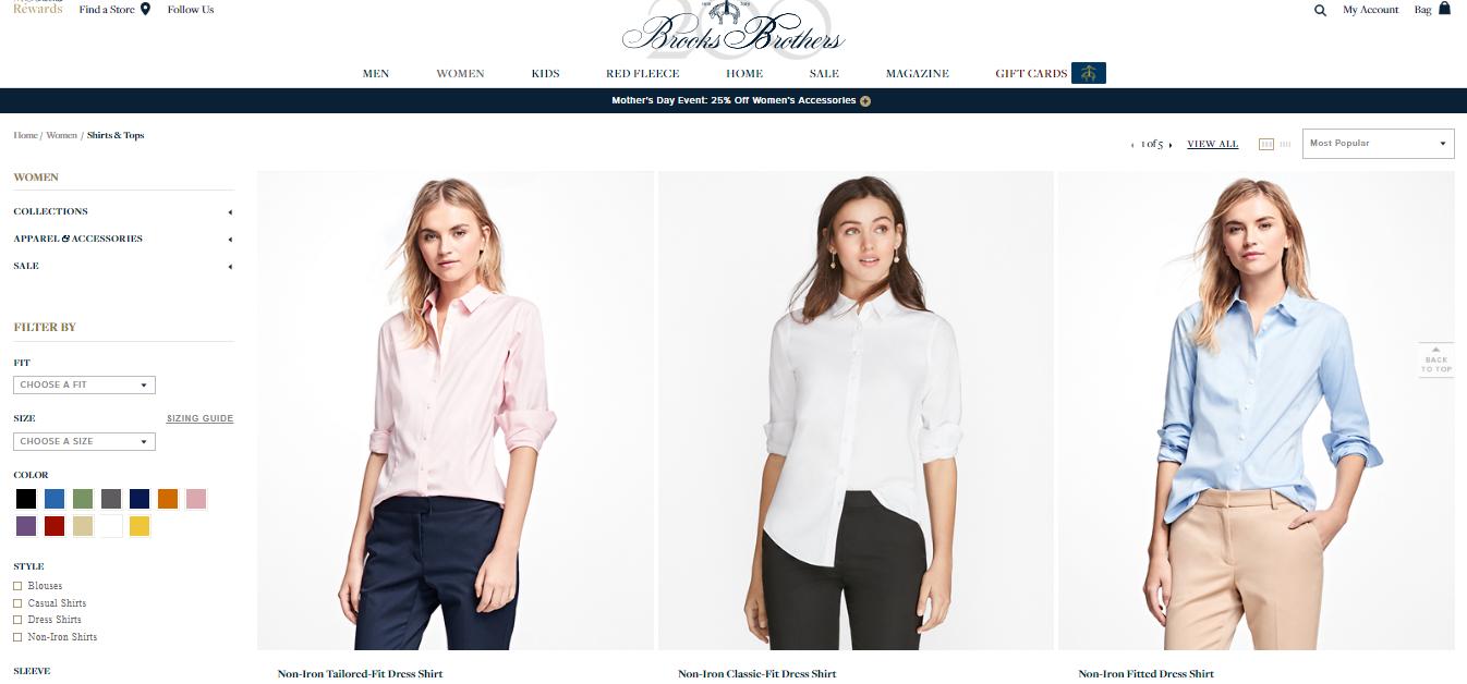 Brooks Brothers Women Shirts