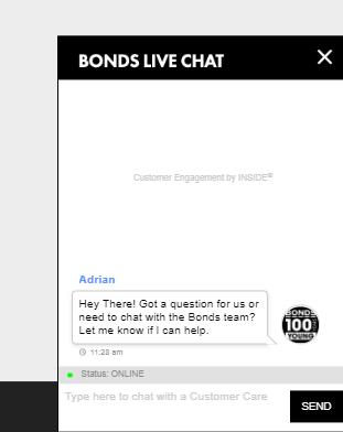 Bonds Live Chat