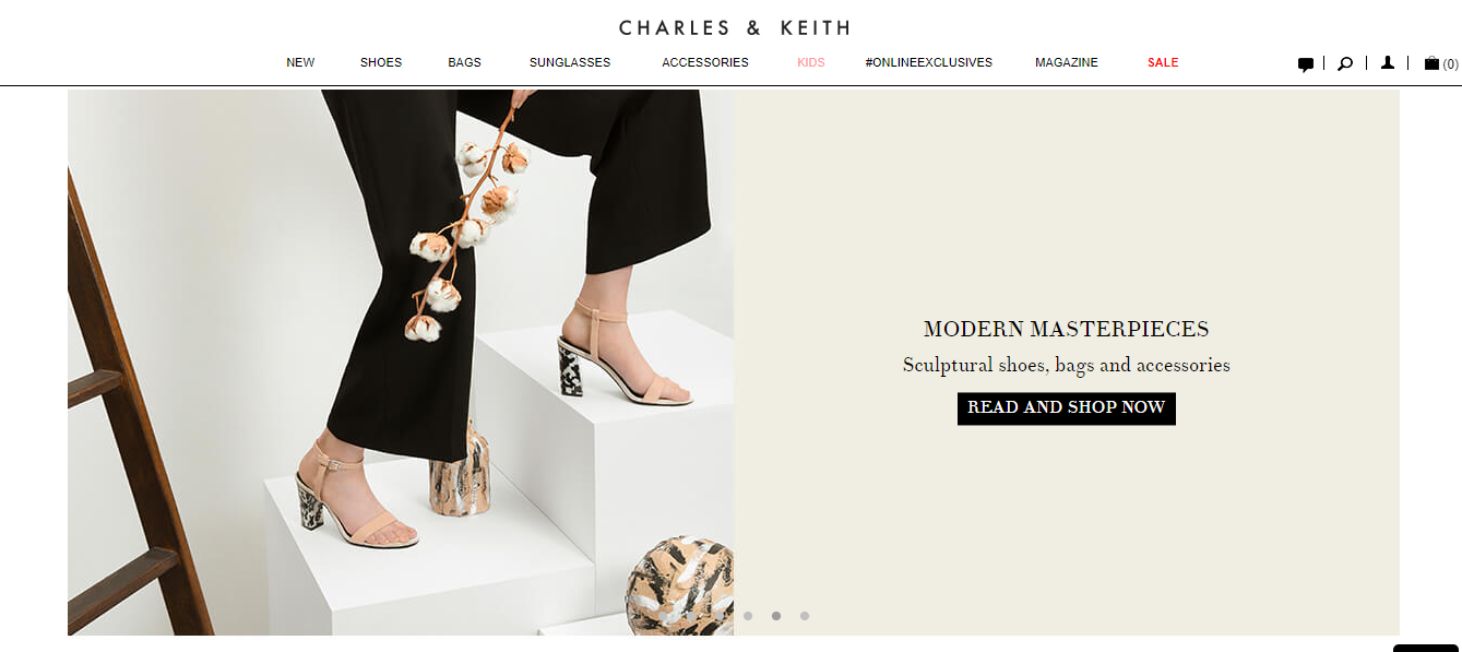 Charles & Keith Modern Masterpieces