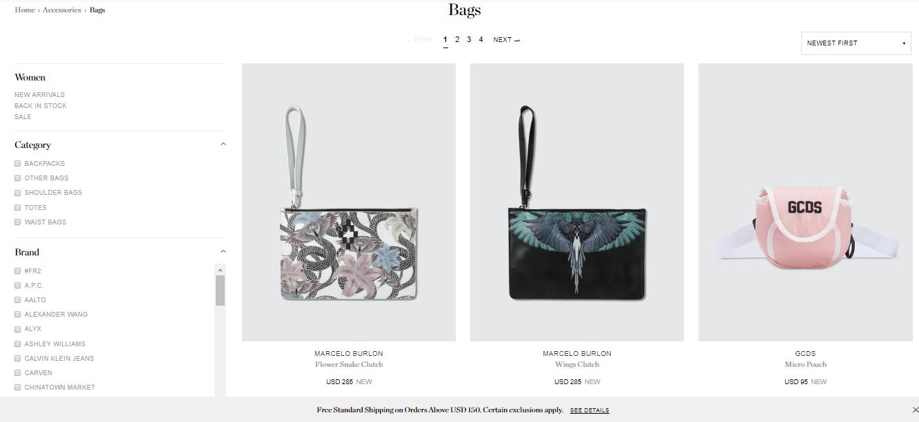 HBX Bags