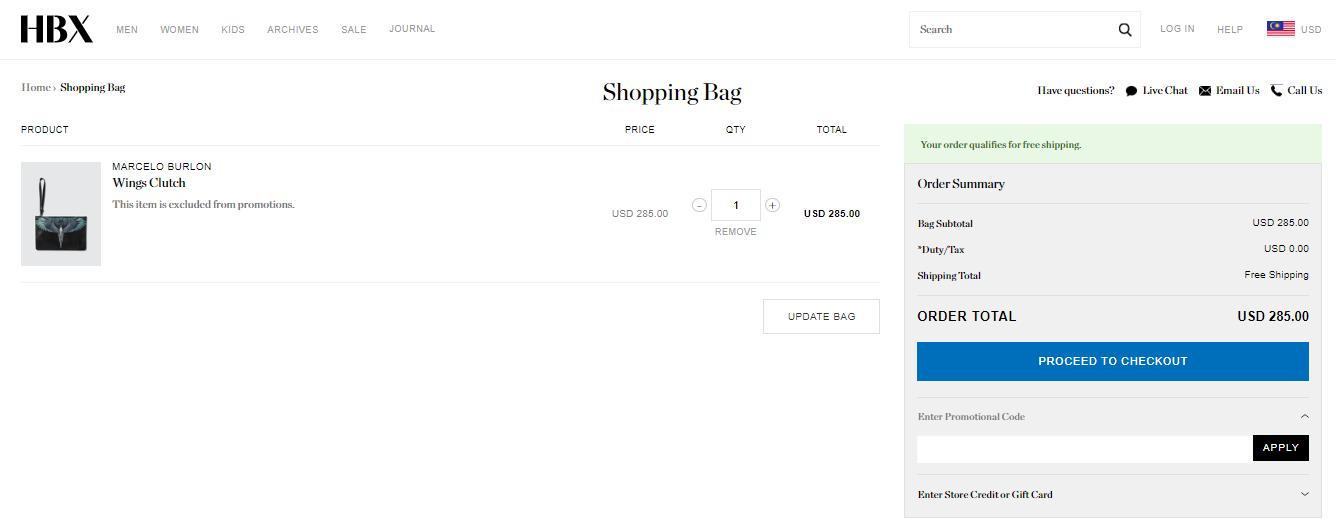 HBX Shopping Bag