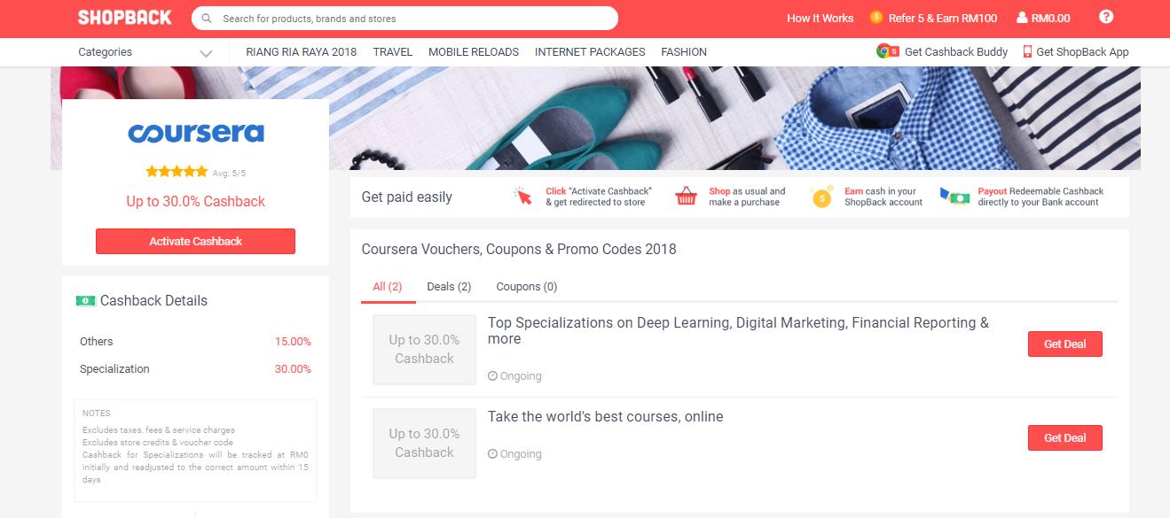 Coursera ShopBack