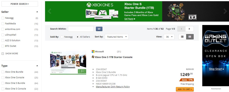 Newegg Xbox