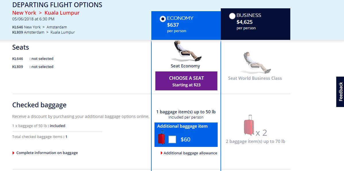 Air France Seats