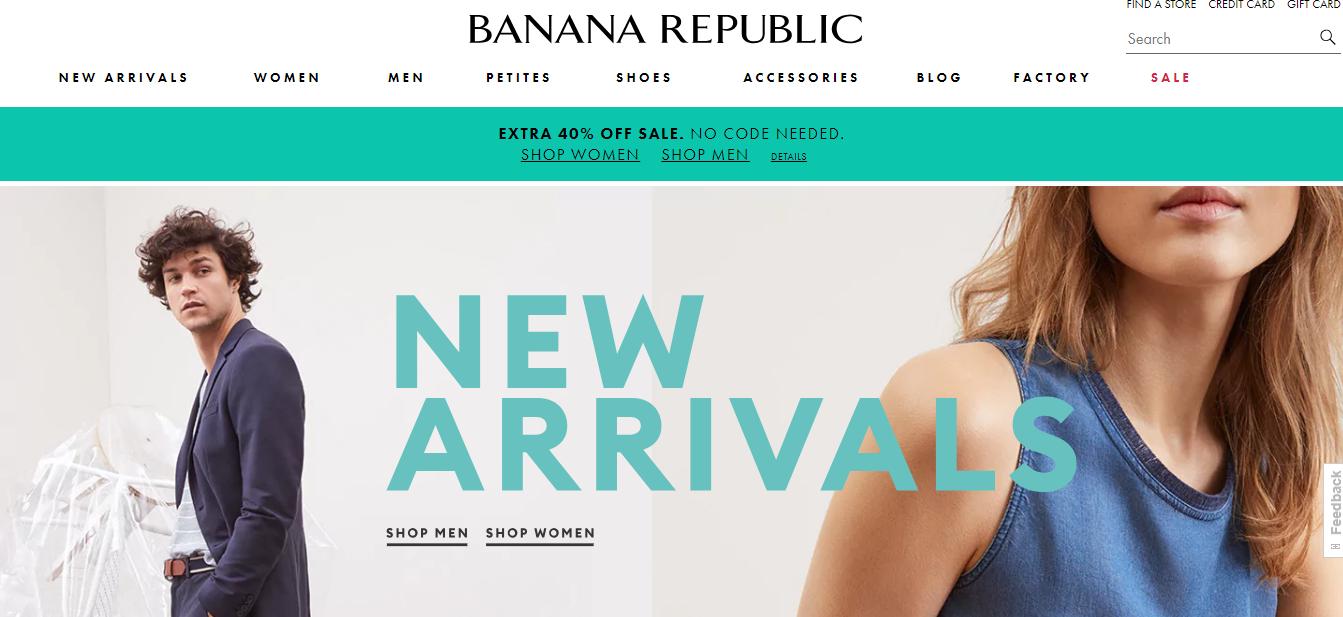 Banana Republic New Arrivals