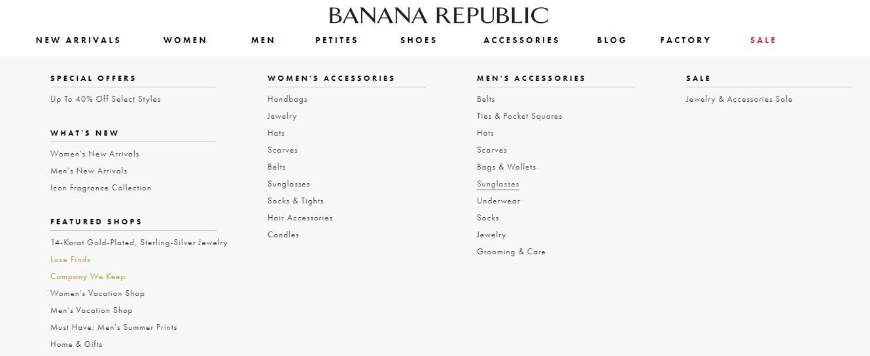 Banana Republic Styles