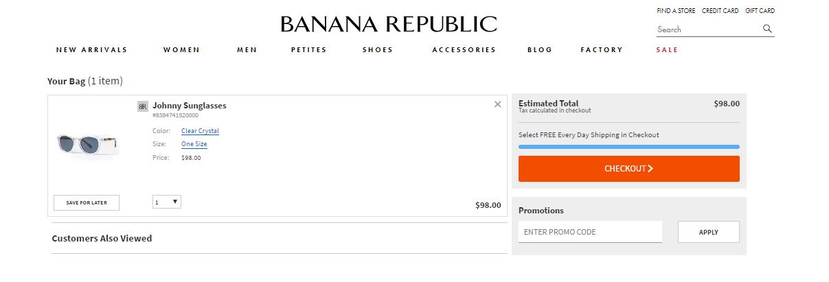 Banana Republic Expenses