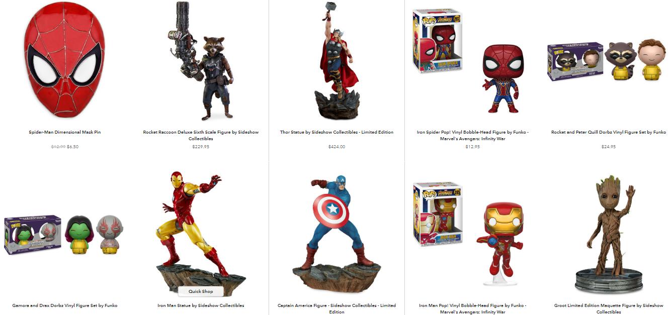 Disney Store Figurines