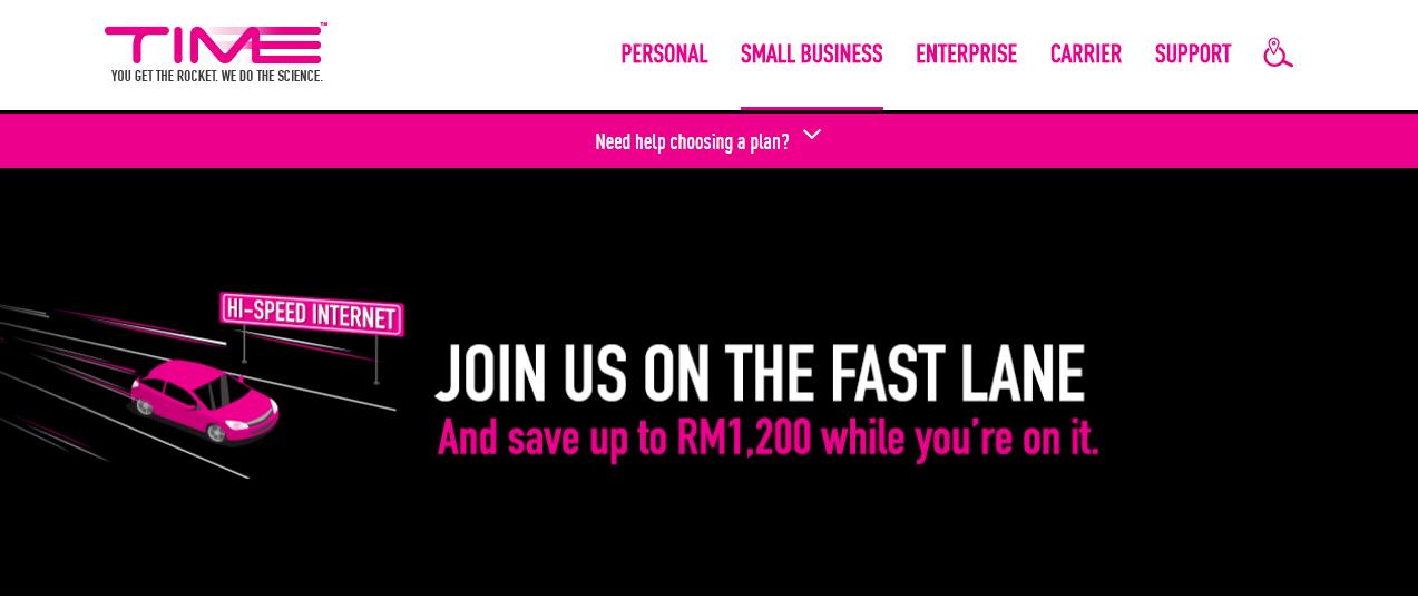 TIME Internet Hi-Speed Internet