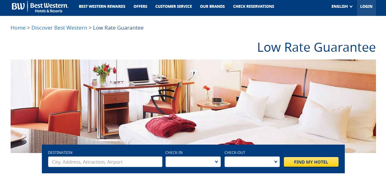 Best Western Hotels & Resorts Homepage