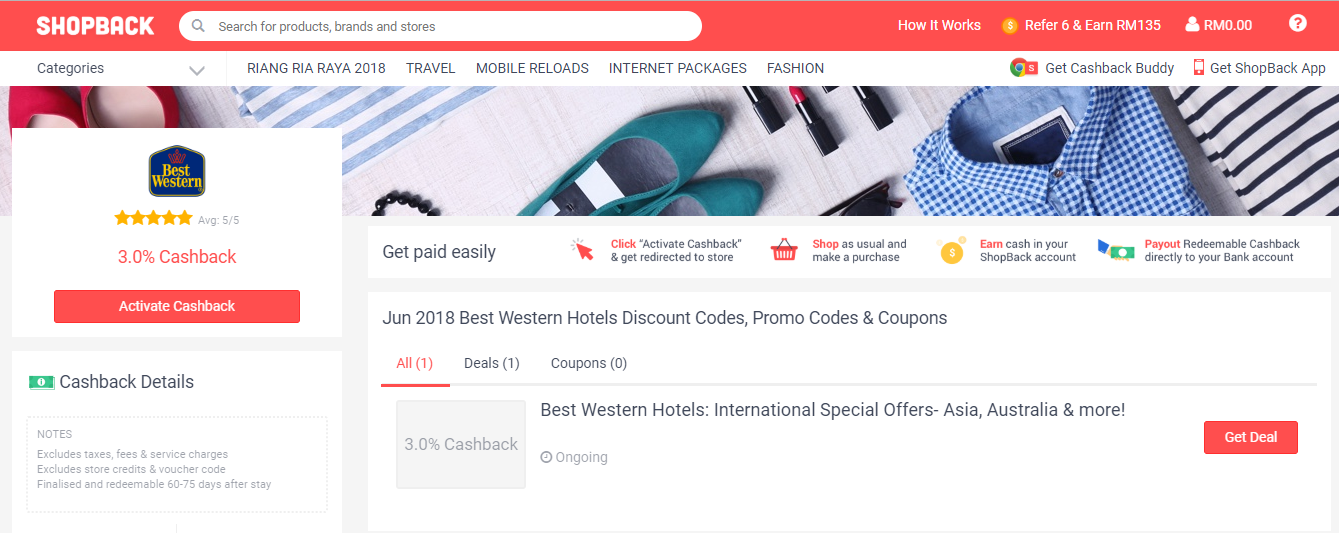 Best Western Hotels & Resorts ShopBack Discount Codes, Promo Codes & Coupons