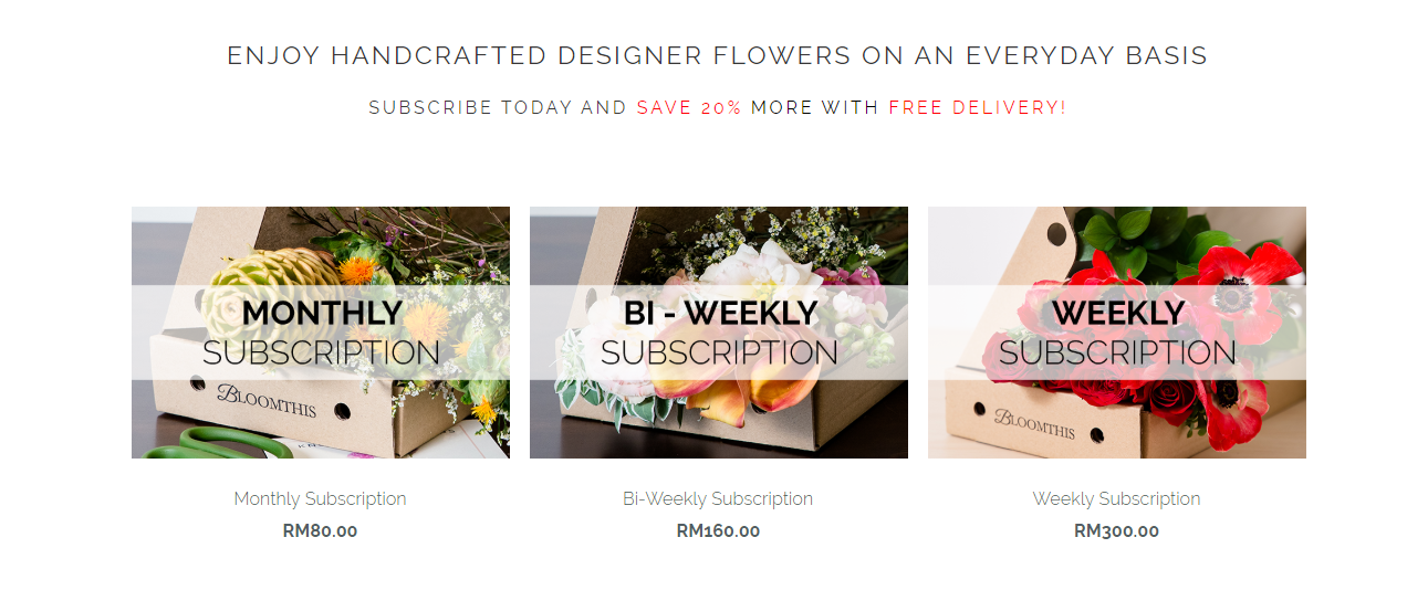 BloomThis Florist Subscription