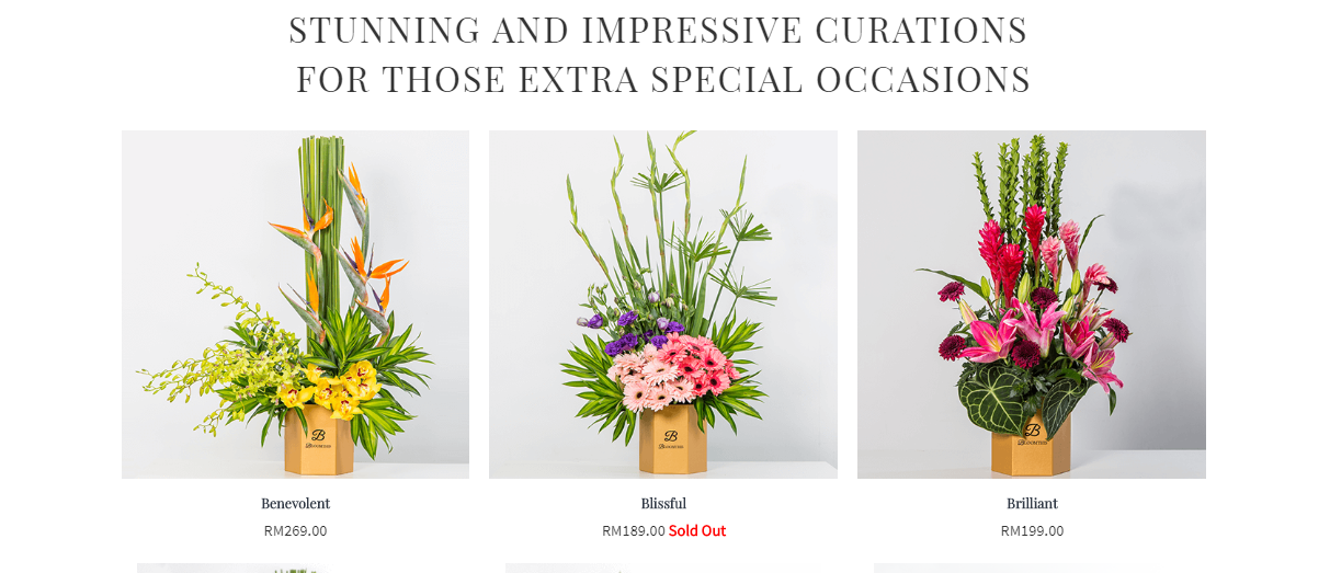 BloomThis Florist flower arrangements