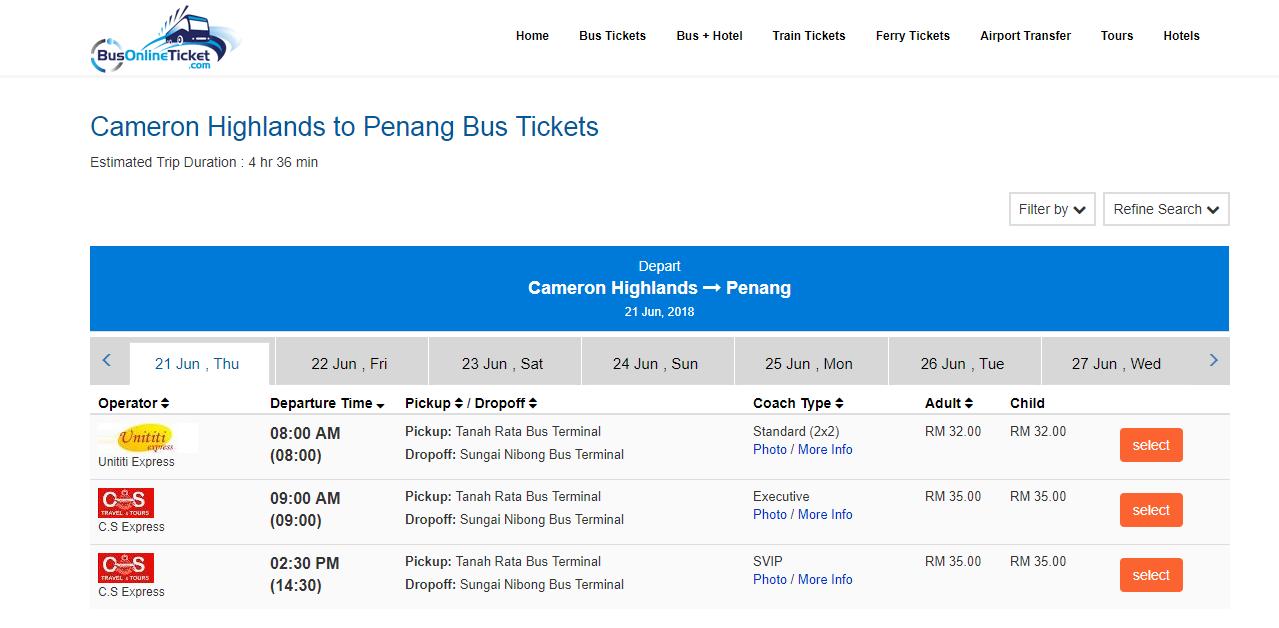 BusOnlineTicket booking