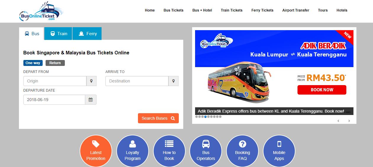 BusOnlineTicket latest promotion