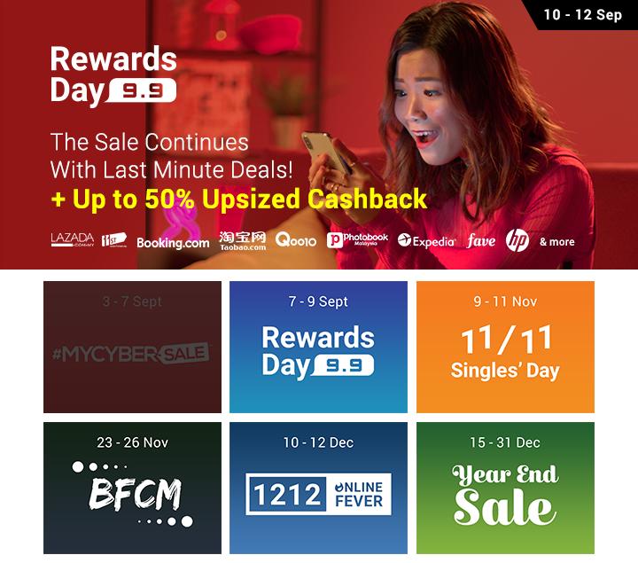 9.9 Rewards Day Malaysia