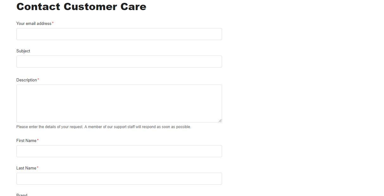 Columbia Sportswear contact customer care