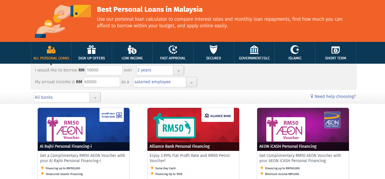 ringgitplus best personal loans in malaysia