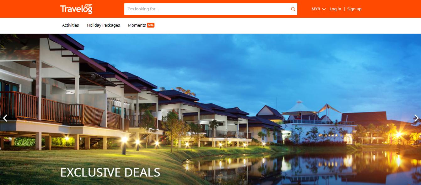 travelog homepage exclusive deals