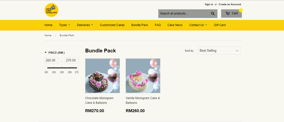 eat cake today bundle pack