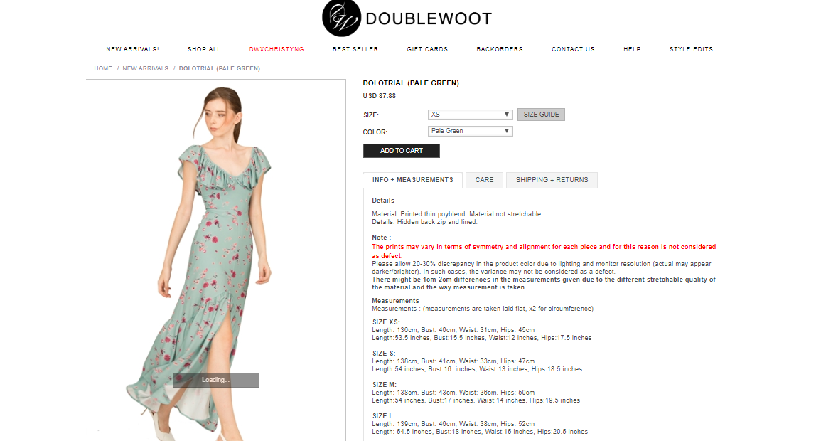 doublewoot product details