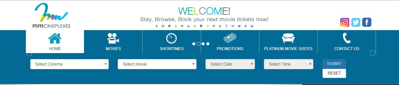 mmcineplexes search movie