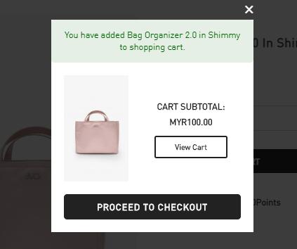 FashionValet add to cart